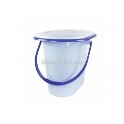 М1320 Ведро-туалет 17л. (голубой)Размеры изделия (ДхШхВ)380х340х380 мм(уп.10)