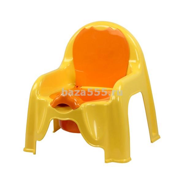 М1328 горшок-стульчик (св.жёлтый)(уп.6)