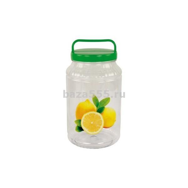 """М1950 бидон """"лимон"""" пэт 3л. (уп.10)"""