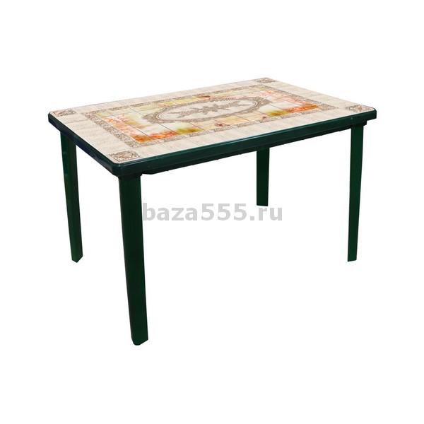 "М3004 стол ""верона"" прямоуг(1200х850х750)(темн-зел)(уп.1)"