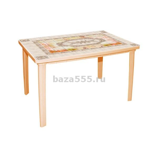 """М3092 стол """"верона"""" прямоуг(1200х850х750)(бежевый)(уп.1)"""