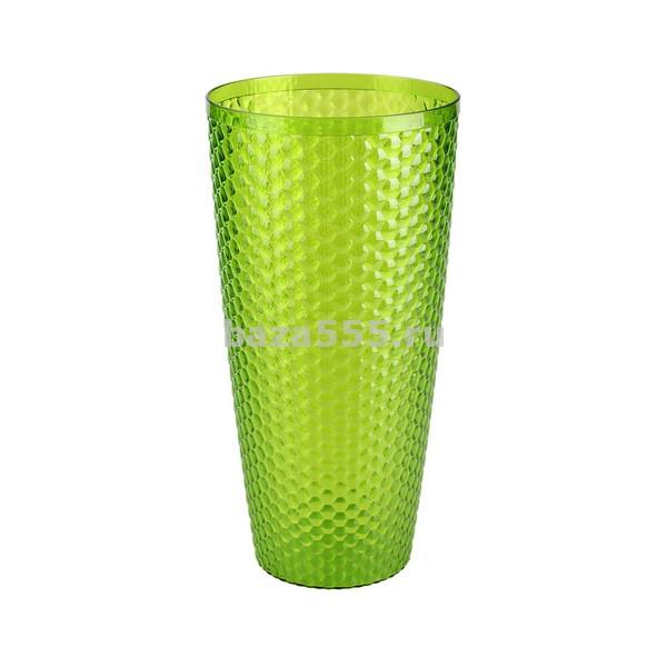 "М5608 ваза для цветов""мозаика""(люкс)(зелен)(уп.20)"