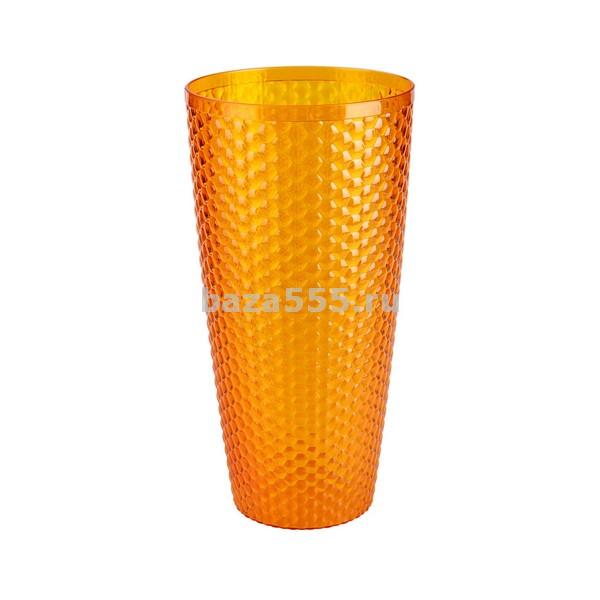 """М5609 ваза для цветов""""мозаика""""(люкс оранж)(уп.20)"""
