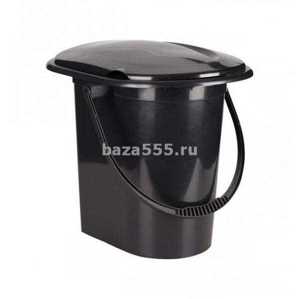 """М6355 ведро-туалет """"эконом"""" 17л размеры изделия (дхшхв)400х360х380 мм(уп.10)"""