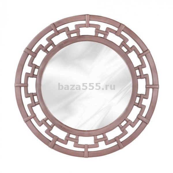 М6767 Зеркало кругл. Эллада (венге)(уп.6)