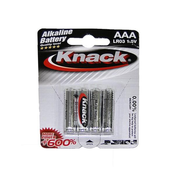 Батарейка KNACK LR03 1.5V алкалин.мизинч.70WY-22-162/.70WY-26-328/240 бл.
