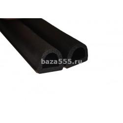 Уплотнитель Резиновый профиль 40 м D(14*12) (Черный)/8,шт
