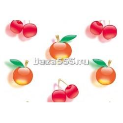 5560 обои самоклеющ.(фрукты) 45см х7м*0,8мм/24шт уп.
