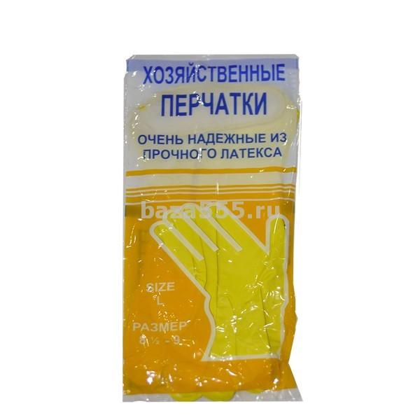 Перчатки резиновые  Арт:ПЧ-08 Размер (мм): L Количество: в фасовке – 1 пара., в коробке – 240 шт