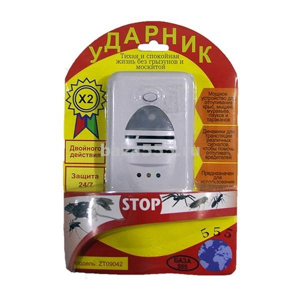 """Отпугиватель от грызунов и насекомых 140 кв.м""""ударник""""zt-09042/100,уп"""