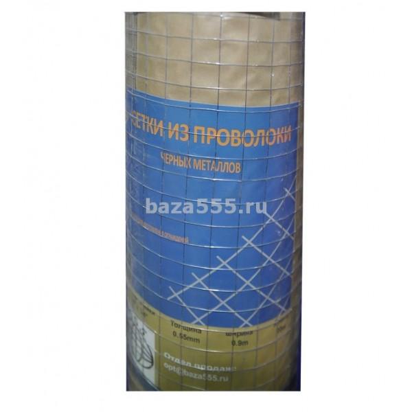 Сетка для ограждений металл.3/4 х3/4;яч;0,45 вес;3,65кг(шир 0,9м/дл 20м)