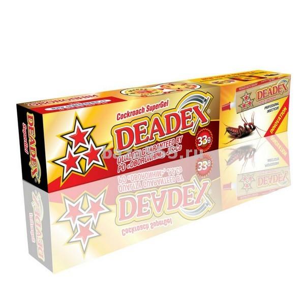 """Гель от тараканов""""deadex"""" 33г/70.шт."""