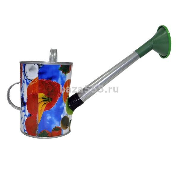Лейка 5л оцинк.с декором пермь/4 шт.