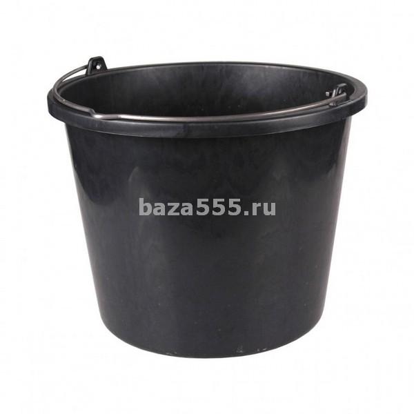 М2674 Ведро строительное 20л (2сорт)для переноски и размешивания строительных растворов(уп.5)