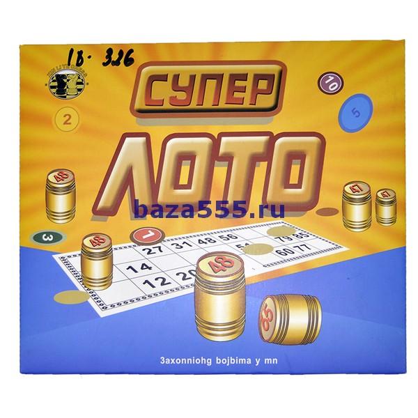 Игра супер лото w9009 /70wy-23-229/70wy-25-327/40,шт