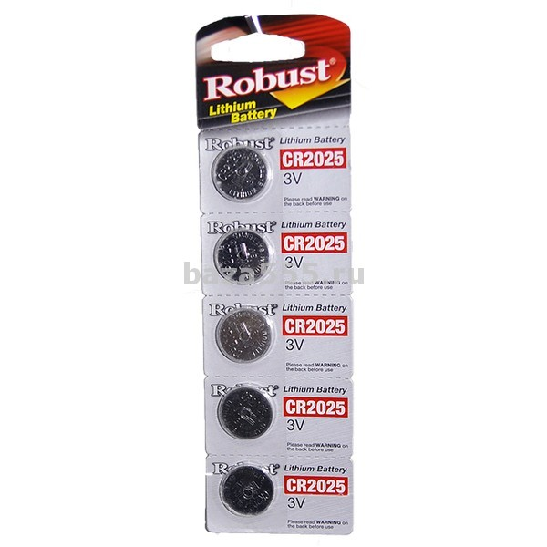 "Батарейки cr2025 ""lithium""таблетка /70wy-12-328/70wy-17-435/70wy-25-295/300,бл"