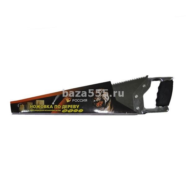 Ножовка по дереву россия 400 мм 70wy-25-432,/60 шт.