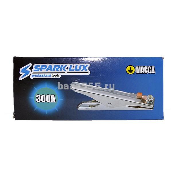 Зажим на массу 300а spark lux/ 100 шт.
