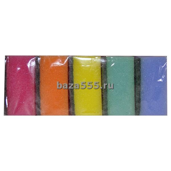 """Губка для посуды """"Lux-5 Арт: ГП-07 Размер (мм): 65x90x35 Колич: 5 шт., в упаковке – 40 шт."""