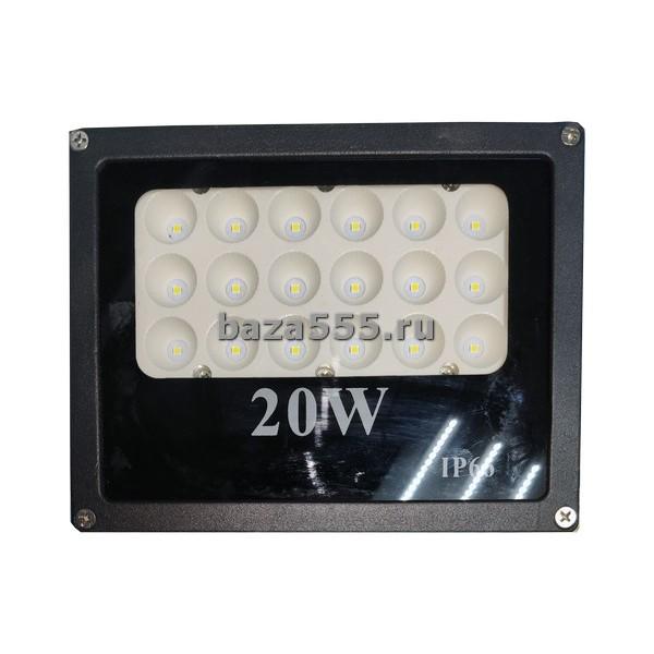 Прожектор светодиодный 20w ip66 (керам.осн-ие) 70wy-20-307/70wy-22-79/30 шт.