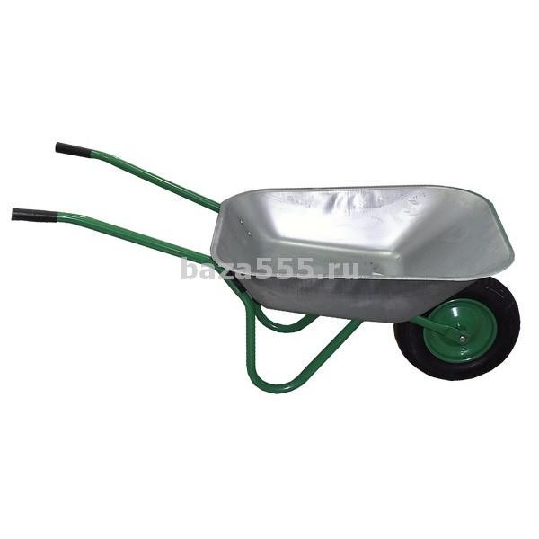 """Тележка сад.1-колес колесо 3,5-8 """"зеленая в упак.""""арт.wb6204 125кг/65л/шт."""