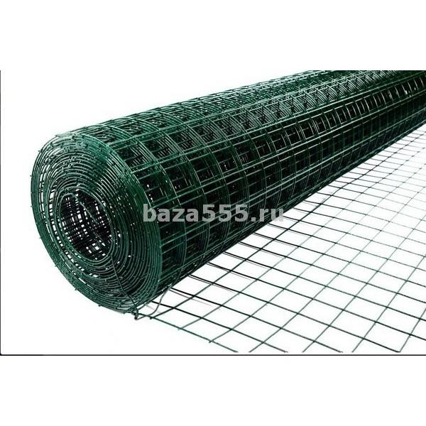 Сетка рабица d пров.=2,5мм;яч.60 х 50 мм вес-10,30кг (шир 1,5м/дл 10м)