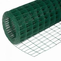 Сетка для ограждений с ПВХ покрытием 0,65*1мм*10 м.