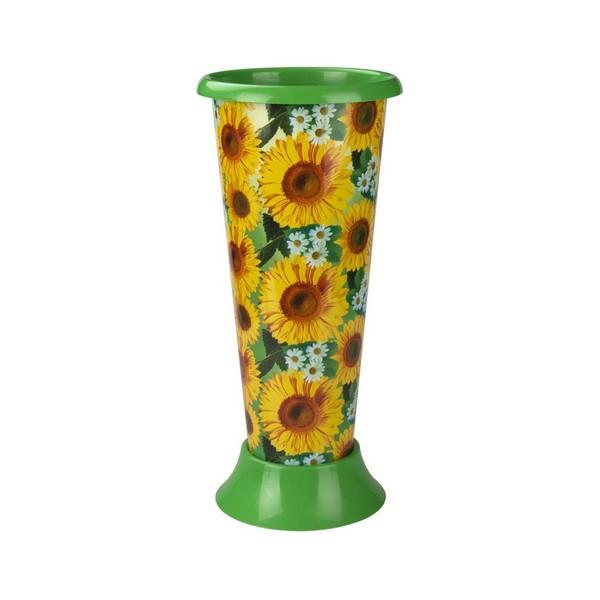 "М4753 ваза для цветов под срезку ""подсолнухи"" (уп.12)"