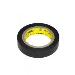 "Изолента черная 0,19мм*16мм*10м(уп.10шт)""ударник""/кор.200шт"
