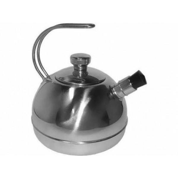 Чайник нерж 3 литра 1с44 бакелит руч свисток зеркальный корпус amet (аша)