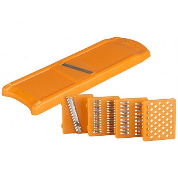 ОвощеРезка Оранж.для морковки +капусты5 смен.нож. Нерж. ЛБ-134 (Кисловодск)С_У