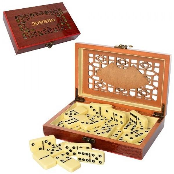 """Игра"""" домино""""в шкатулке w5010-0 70wy-25-332/48,шт"""